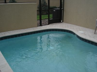 Private pool - can be heated during cooler months
