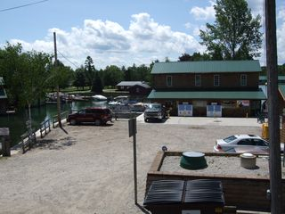 Torch Lake cottage photo - Marina at bridge