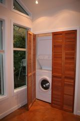 Seattle cottage photo - Washer/Dryer in utility closet