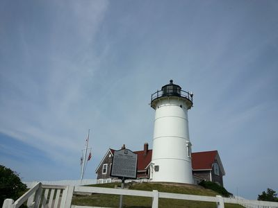 Nobska Light - a Falmouth treasure with a great view of Vineyard Sound.
