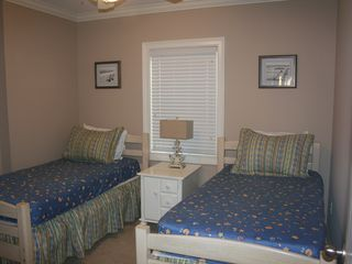 Tybee Island condo photo - Twin Beds