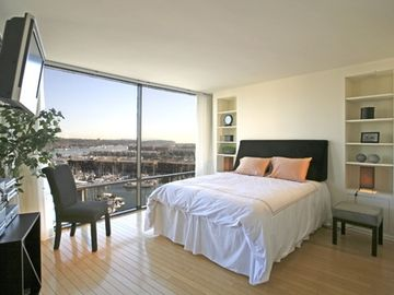 Master Suite of the Marina del Rey rental.