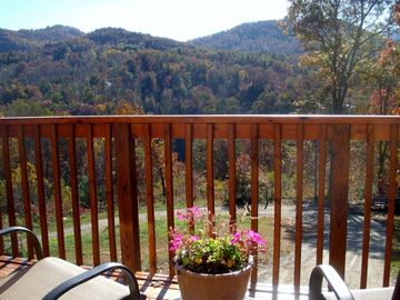 Waynesville cabin rental - View from your private balcony.