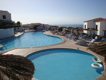 Large Heated Swimming Pool and Childrens Pool