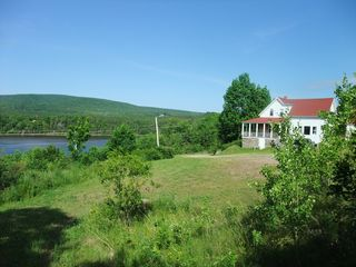 Margarees farmhouse photo - View from porch