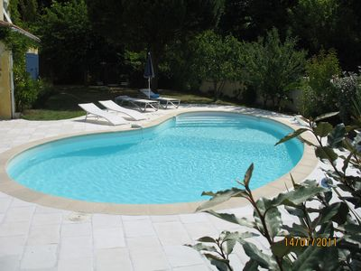 House 45m2, 6km / beaches, quiet, shady, pool, 1500m center every Service