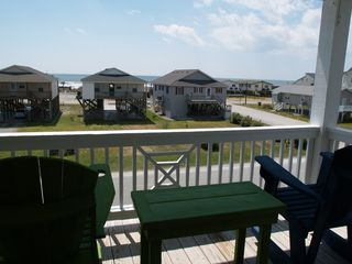 Oak Island house photo - Upper porch, great views......relax