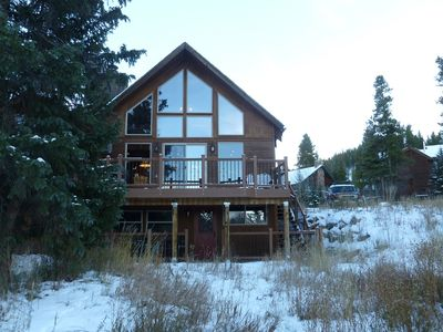 Warriors Mark Breckenridge chalet rental - Rear Home Exterior