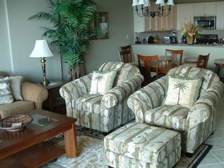 Orange Beach condo photo - The Living Room looks out over the Marina and Inter-Coastal