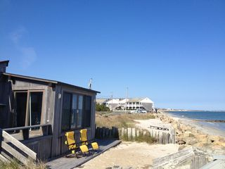 Yarmouth cottage photo - Private sandy beach, captivating ocean views