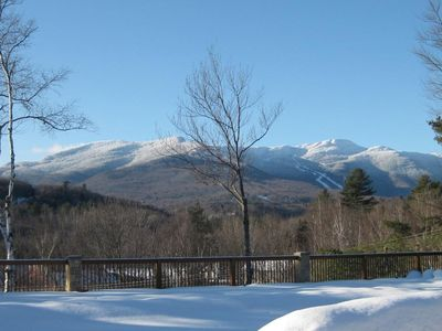Magnificent views of Mt. Mansfield from Norma's
