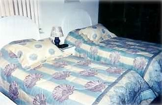 TWIN BEDS NEW FURNISHINGS AND NEW TILE FLOORING
