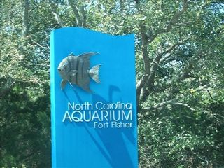 Kure Beach house photo - The North Carolina Aquarium is a must-see attraction close to our home