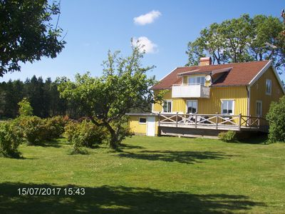 Winter price to 10. 6:17, farmhouse on the lake, secluded location, Internet u. phone