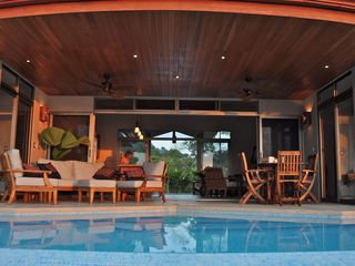 Ojochal villa photo - Outdoor living at its best.