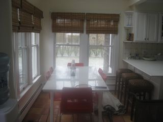 Quogue house photo - kitchen breakfast area