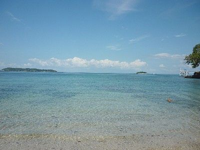 Pearl Islands villa rental - Clear water, right in front of property