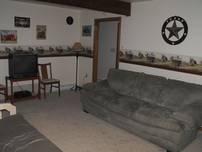 Emerald Lakes house rental - Pop in a dvd and the kids have their own space.