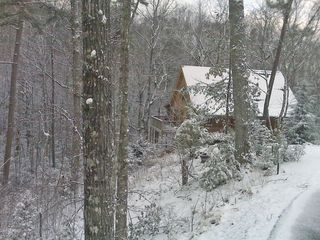 Winter Snow - Wears Valley cabin vacation rental photo