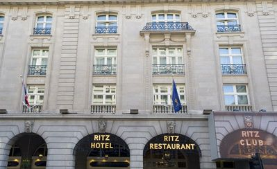 Ritz Hotel 100 meters away