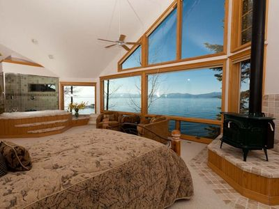 Lakeview Master Bedroom