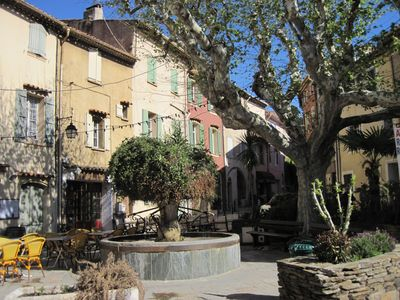 All comfort apartment in the old village of Cogolin