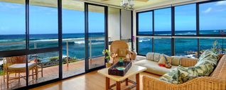 Poipu condo photo - WATCH THE SURFERS SURF TOWARD YOU. SO CLOSE AND ENTERTAINING...