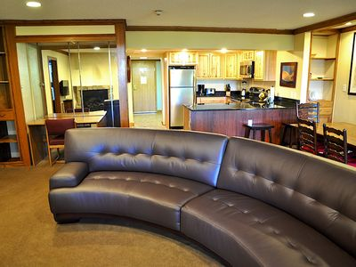 Great living area! Plenty of room for everyone.