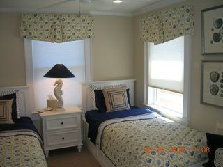 Plum Island condo photo - Xtra long twin bedroom with flat panel TV