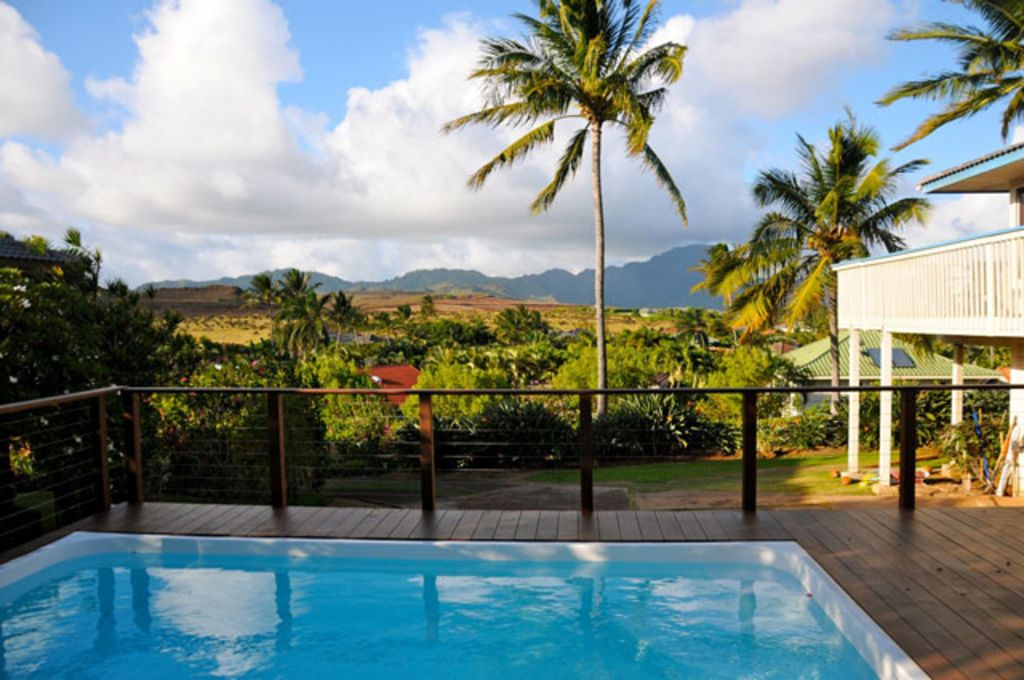 Stunning views private pool a c walk homeaway kauai - 1 bedroom apartment salt lake hawaii ...