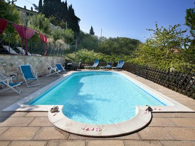 Villa Nuba cottages rental in Umbria, The new eco swimming pool