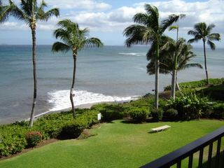 Maalaea condo photo - Ocean View From Lanai For Alfresco Dining