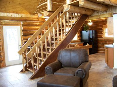 Galena cabin rental - Very open and cozy!