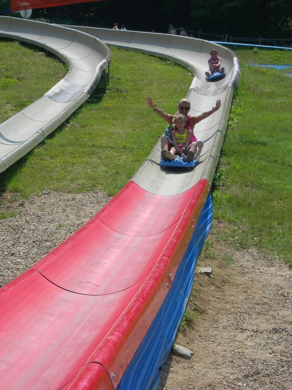 Attitash Mountain slide for summer fun!