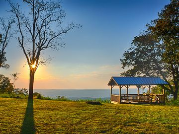 Mentone estate rental - Gorgeous sunsets every day, as we are on the western brow of Lookout Mountain.