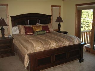 Dollar Point house photo - One of two Master Bedroom Suites has a private deck and full lakeview