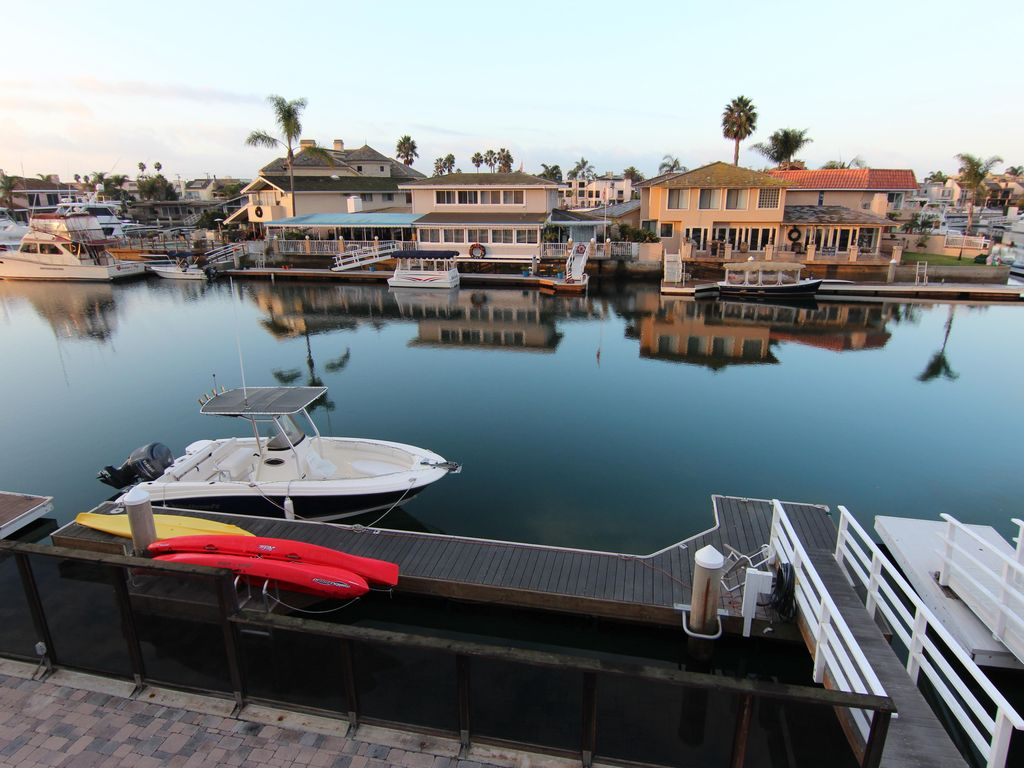Waterfront Home In Huntington Beach...   HomeAway .