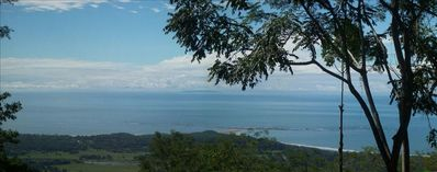 View of Ballena National Park and Cano Island from the deck of each Bungalow!