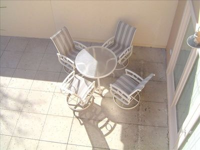 Out Door Patio With Gas BBQ Grill and More Furniture Not Shown Seats 8 Total