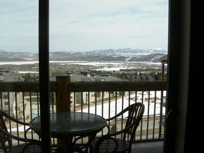 Mountain View and Balcony at Park City, UT Condo at Canyons Ski Resort