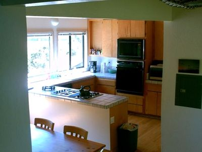 View of the Kitchen Area