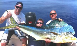 Key West villa photo - Mahi Mahi caught with my friend Matt West and Paul Frautschi.