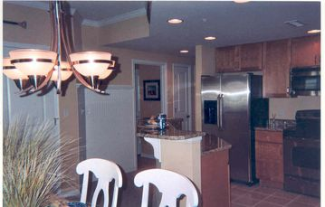 Kitchen and Hallway, Seaside Escape Ocean City MD