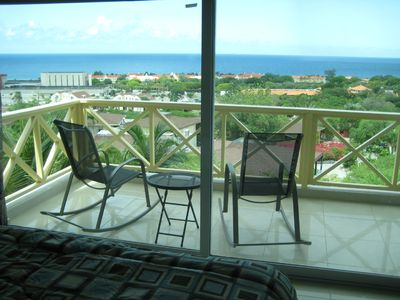 Curacao condo rental - View From Master Bedroom