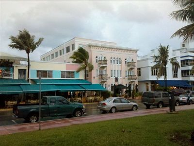 Art Deco Building on Ocean Drive-Unit