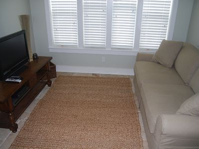 Navarre Beach house rental - Den with queen size pull out couch