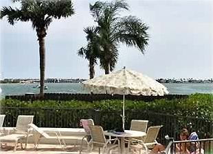 Pool View of Boca Ciega Bay