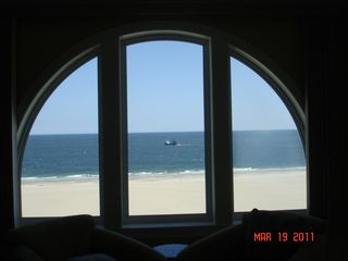 Belmont Towers Ocean City condo photo - view of Ocean from Master Bedroom.