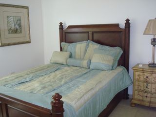 Fajardo condo photo - Queen bed with view to El Yunque Rainforest