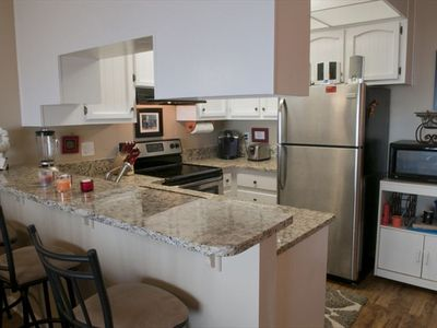 High End Kitchen with Keurig Coffee Maker, Stainless Steel and Granite!
